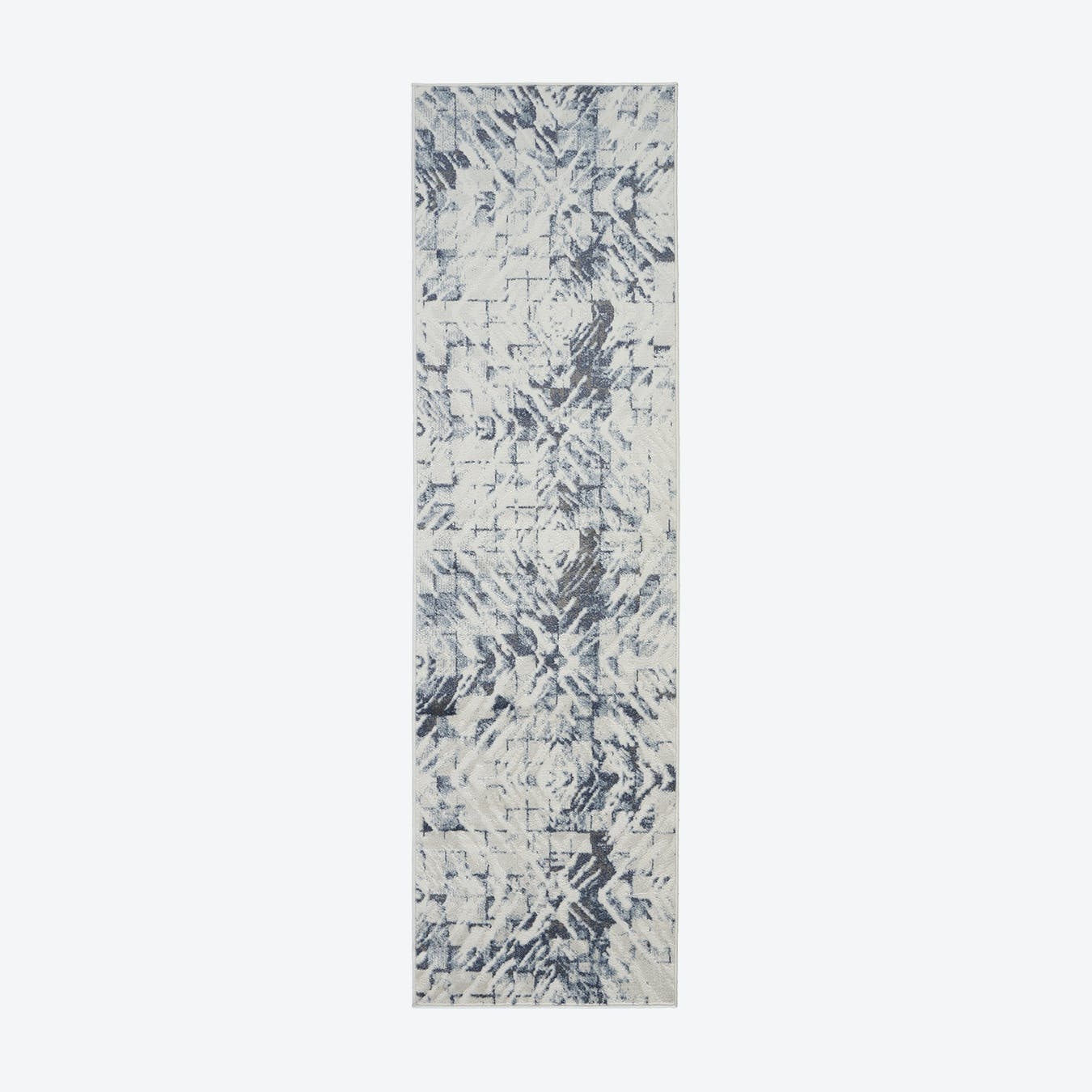 Urban Decor Ivory/Blue Runner