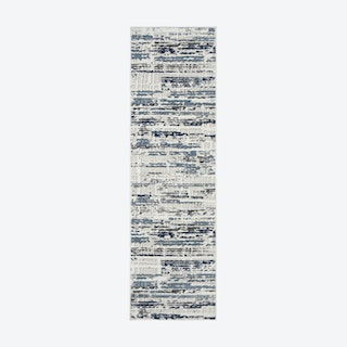 Urban Decor Ivory/Slate Runner