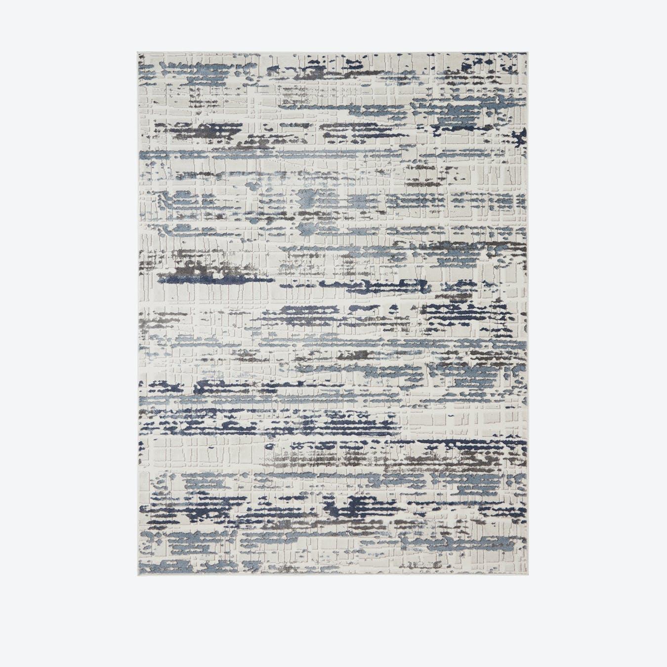 Urban Decor Ivory/Slate Rug