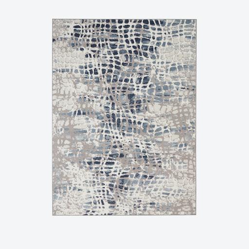 Urban Decor Ivory/Grey Rug