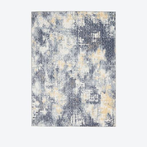 Urban Decor Ivory/Sky Rug