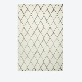 TWILIGHT 15 Rug in Ivory & Grey
