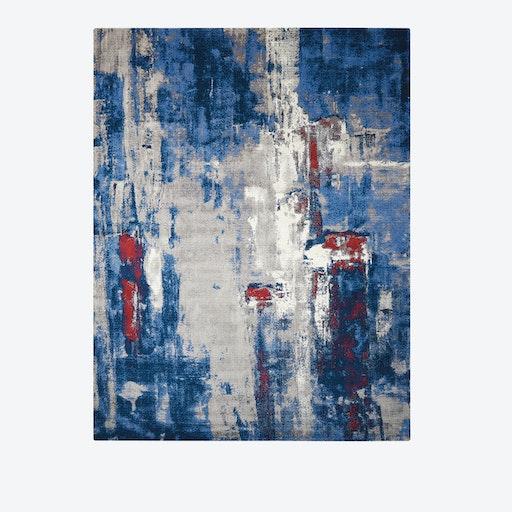 TWILIGHT Rug in Grey & Blue