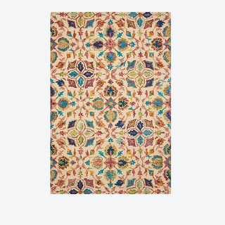 VIBRANT 08 Rug in Ivory
