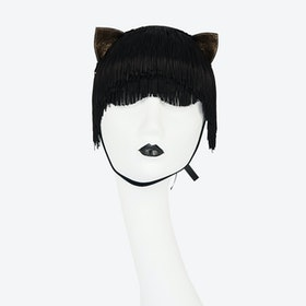 Noir Kitten Mask