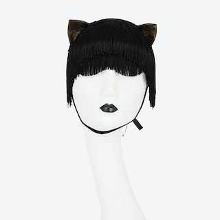 Noir Kitten Mask