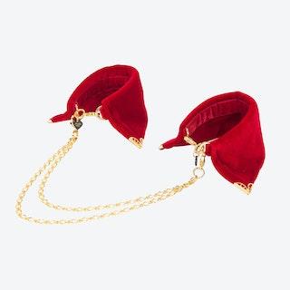 Rouge Velvet Cuffs