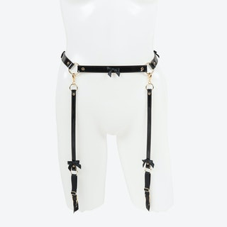 Jet Garter Belt