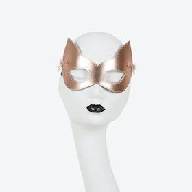Lolita Silver Kitten Mask