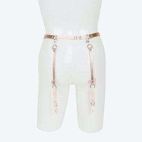 Lolita Silver Garter Belt