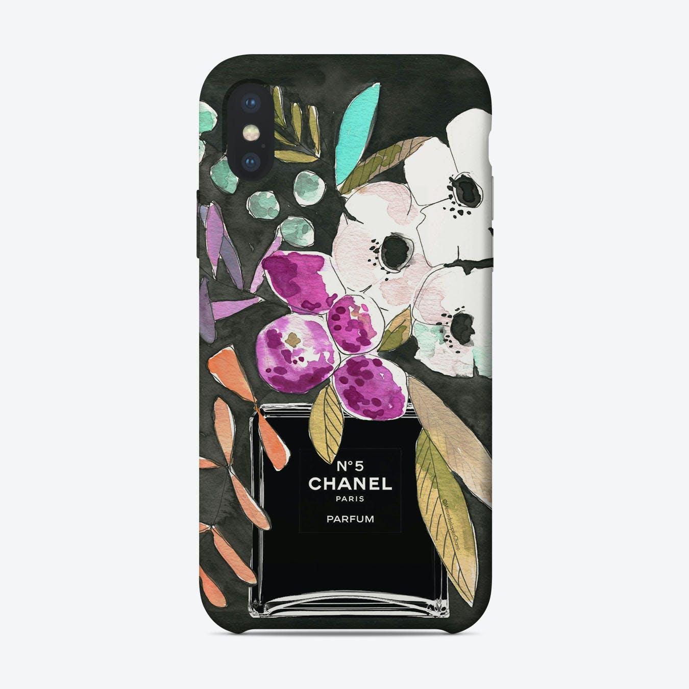 Chanel Midnight iPhone Case