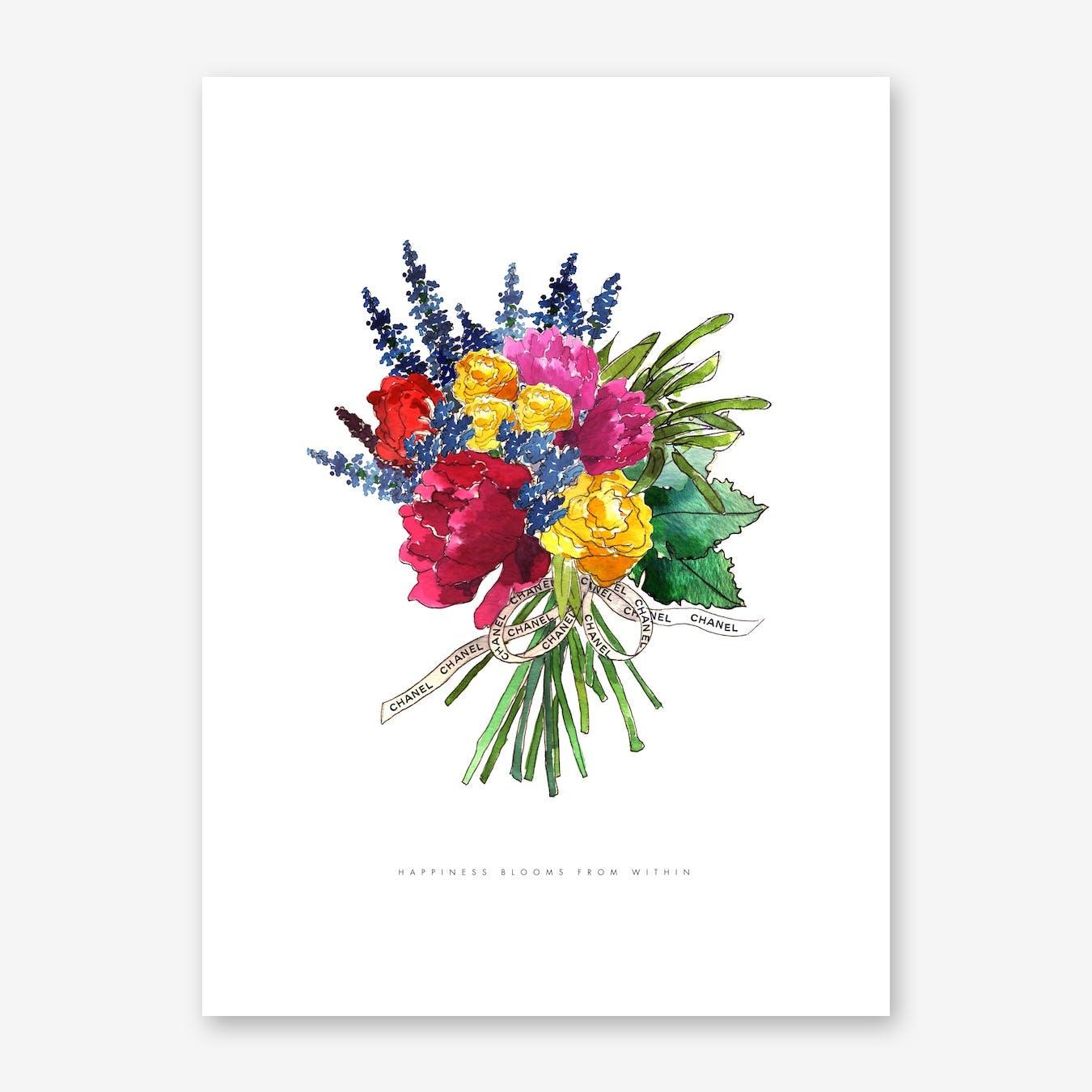 Chanel Ribbon Floral