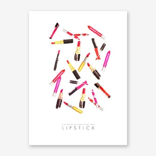 Lipstick World Art Print
