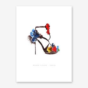 Roger Vivier Art Print