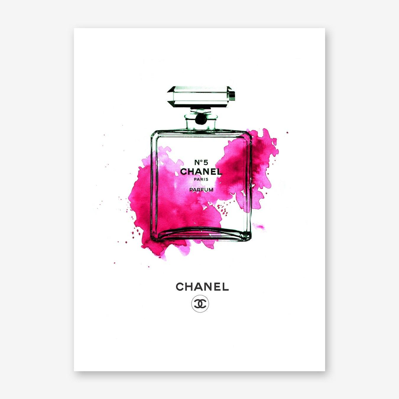 Chanel Bottle Pink