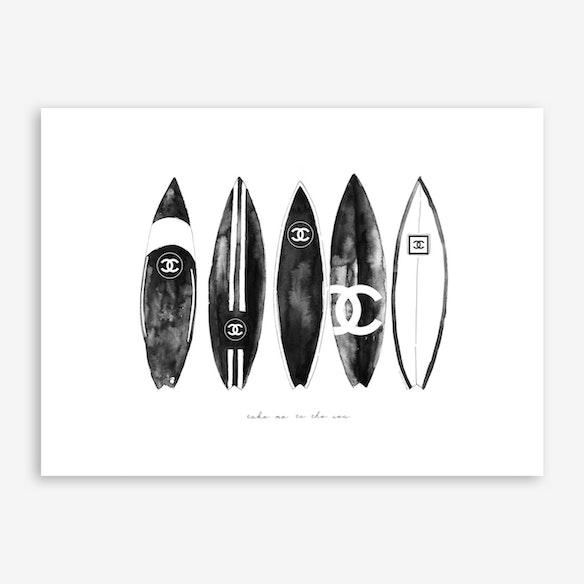 Chanel Surfboard Lined By Mercedes Lopez Charro - Fy