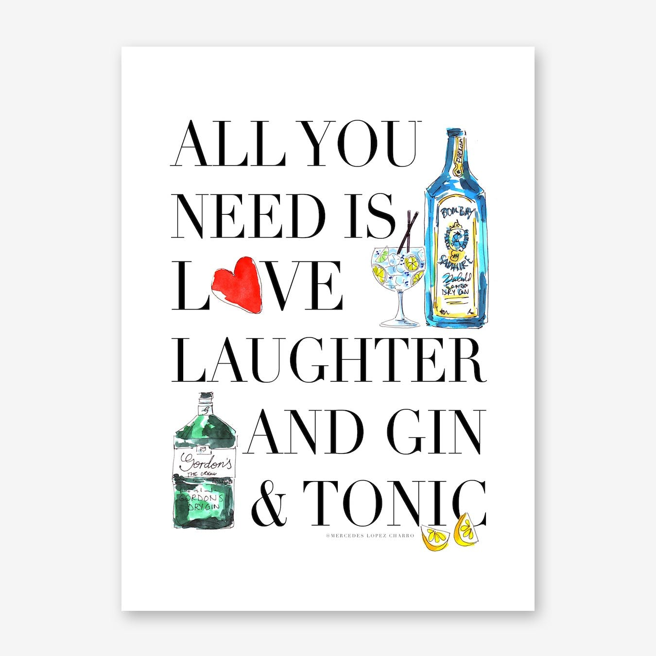 All You Need is Gin