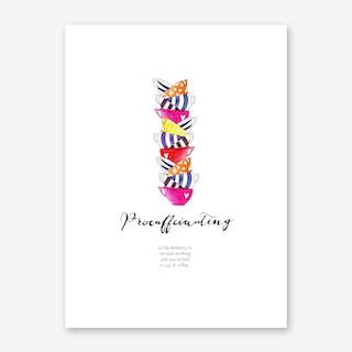 Procaffeinating Art Print