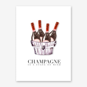 Laurent Perrier State of Mind Art Print