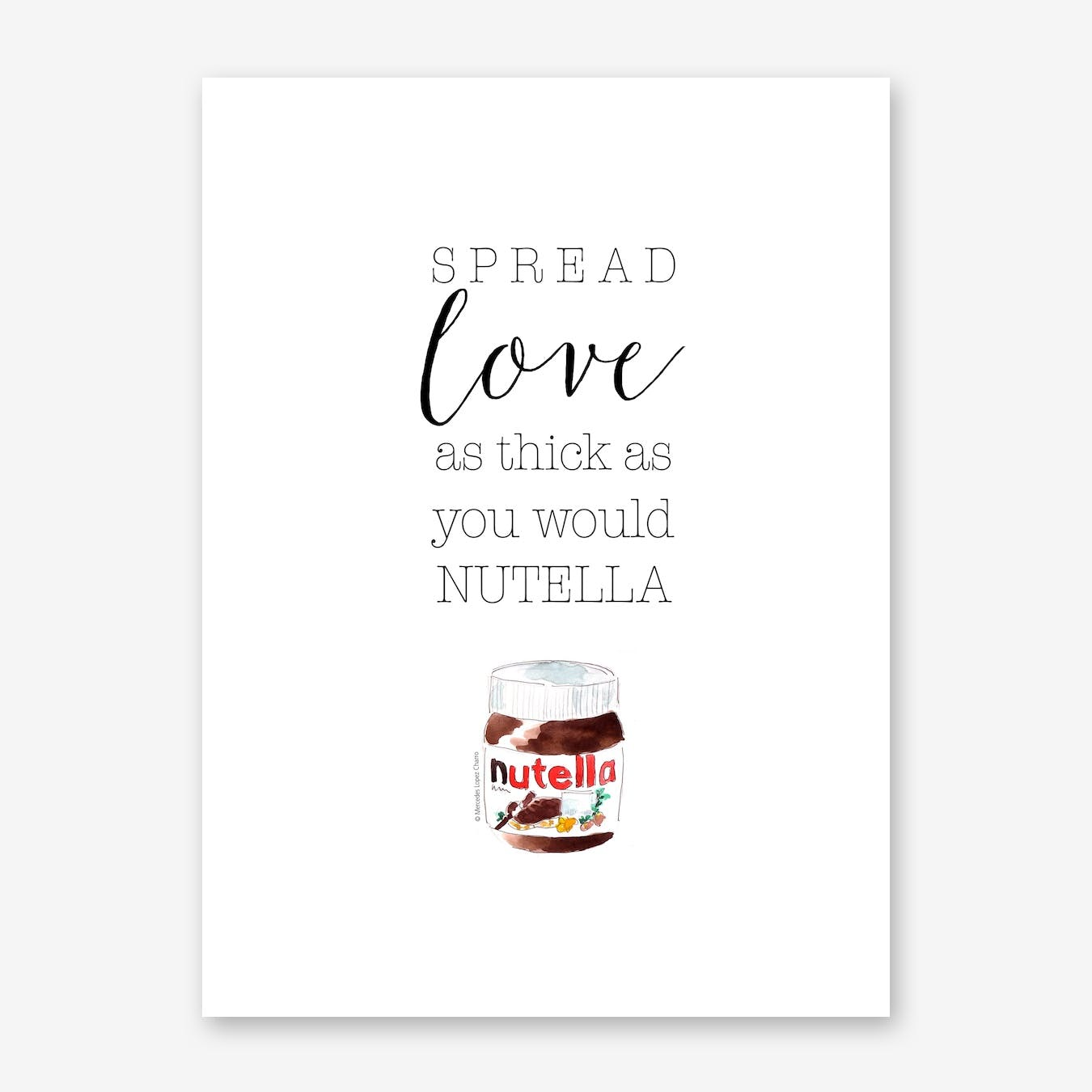 Spread Love with Nutella