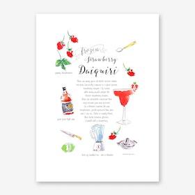 Daiquiri Art Print