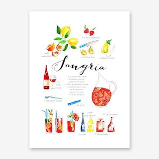 Sangria Art Print