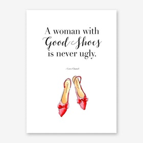 Good Shoes Art Print