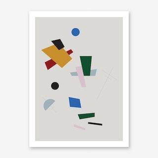 Deconstruct Art Print