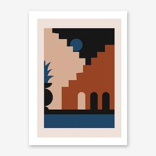 Midnight Oasis Art Print