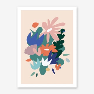 Where the Wild Flowers are Art Print
