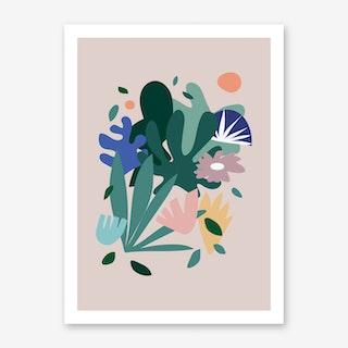 Pop Botanica Art Print