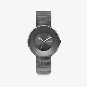Cielo in Graphite with Mesh Trap, 34mm