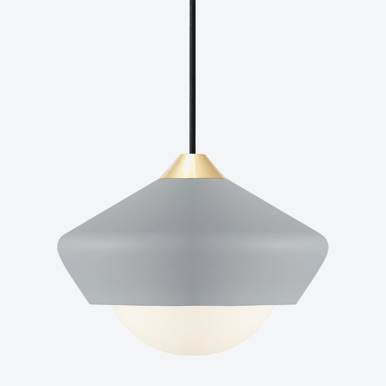 Bright Moon Pendant Light in Grey