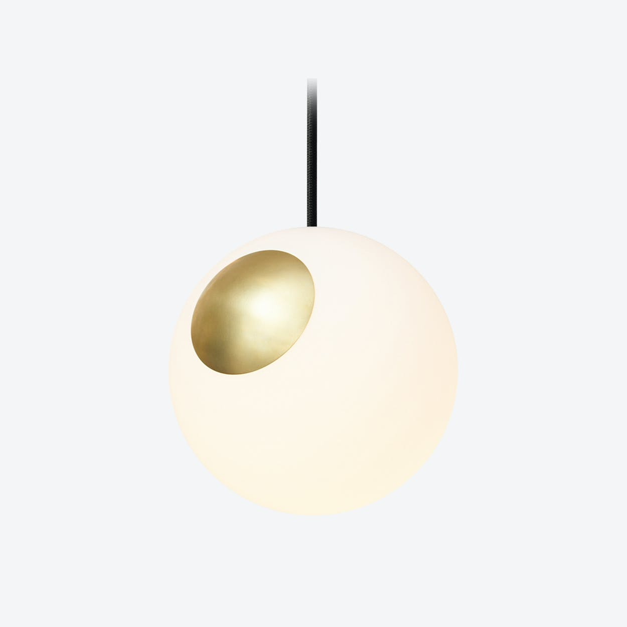 Bright Spot Pendant Light in Off-white