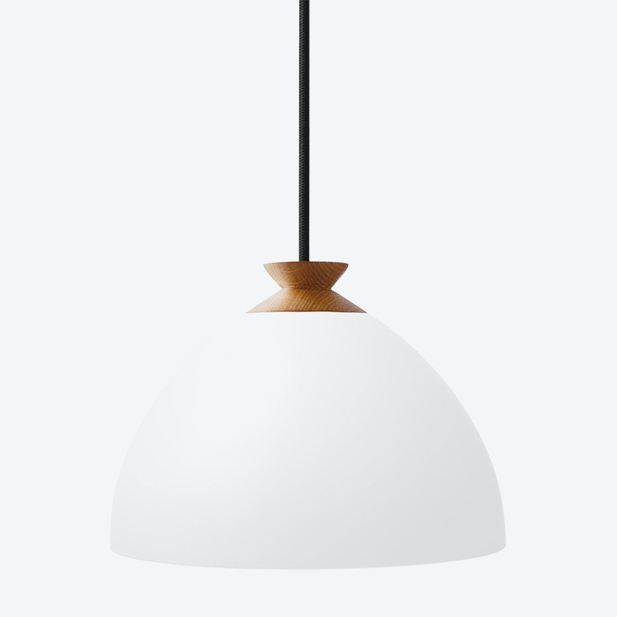 Bright Bloom Pendant Light in White
