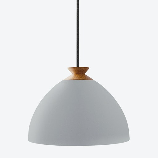 Bright Moon Pendant Light In Grey By Nordic Tales