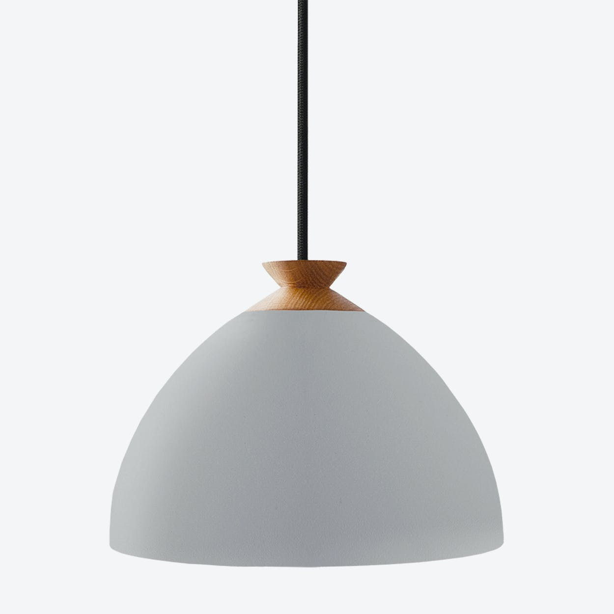 Bright Bloom Pendant Light in Grey