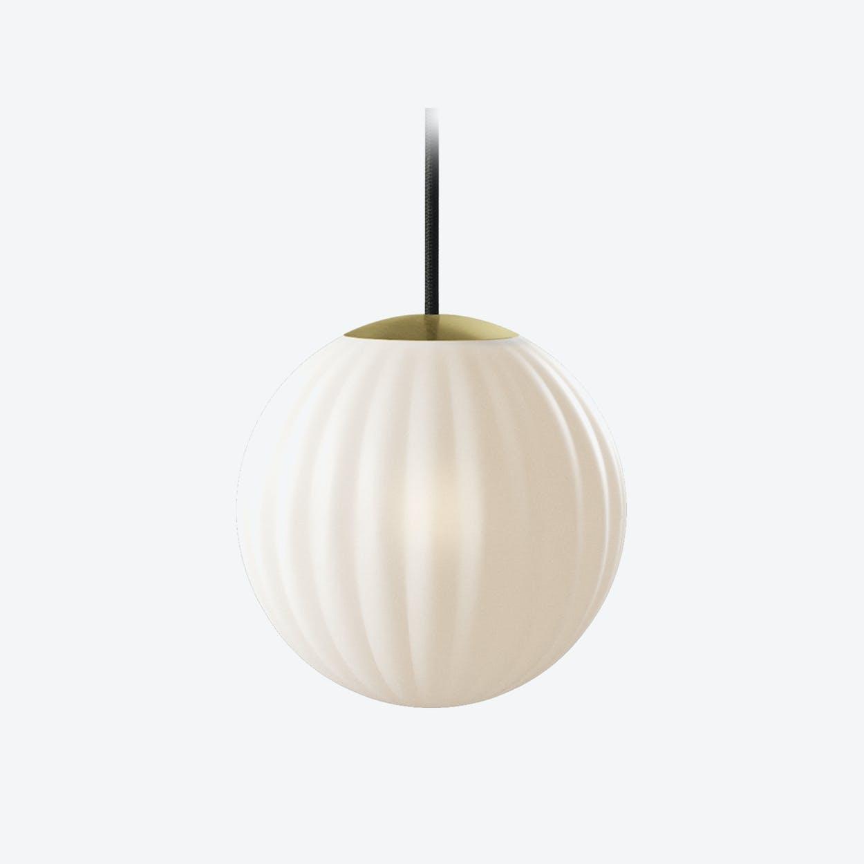 Bright Modeco Pendant Light in Off-white