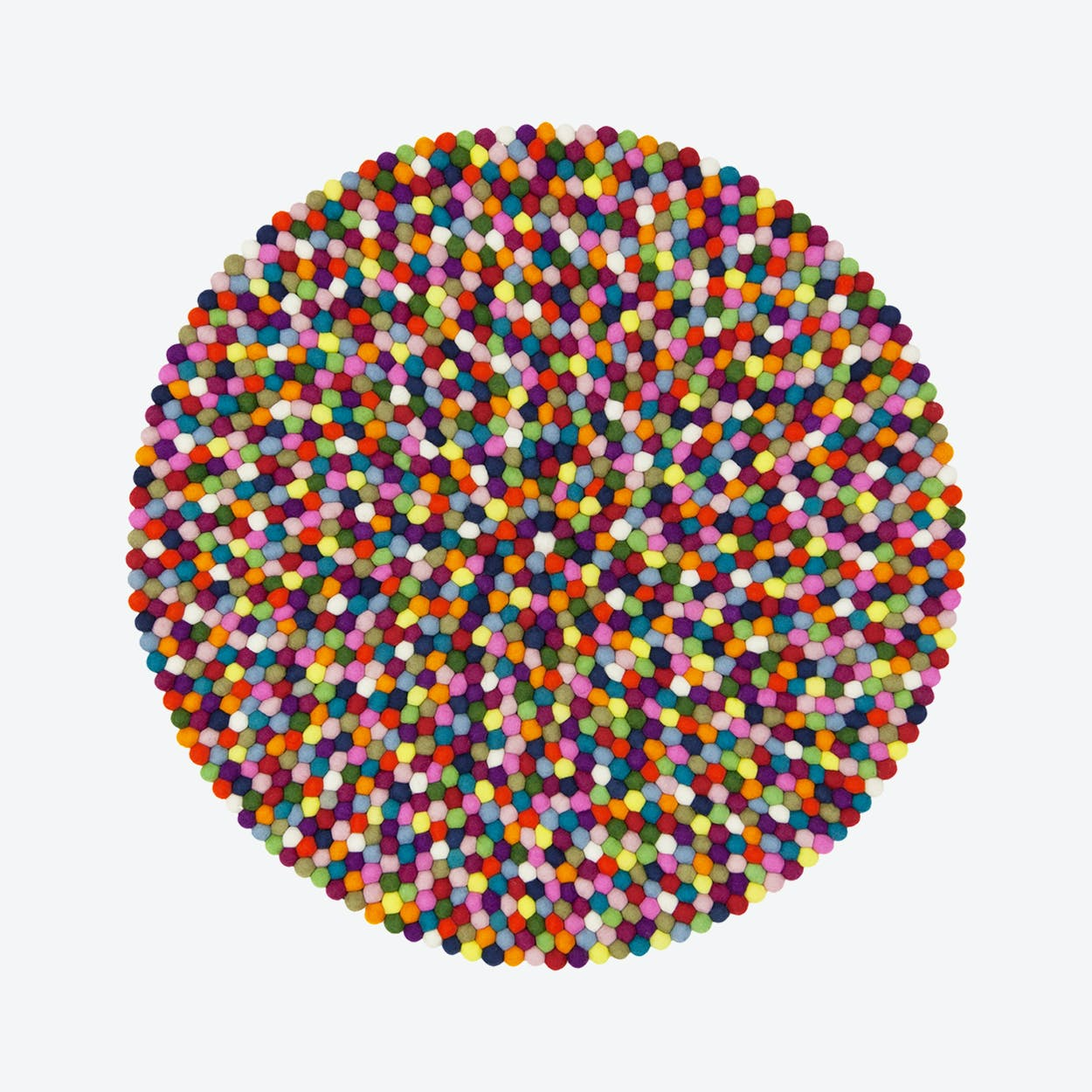 Lotte-Felt Ball Rug