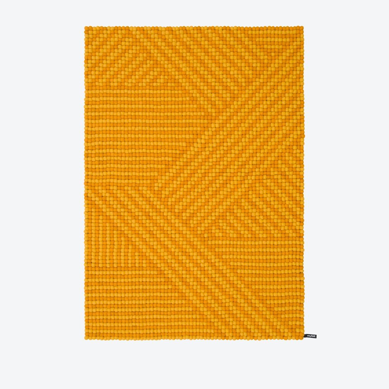 Weave-Felt Ball Rug (120x170 cm)