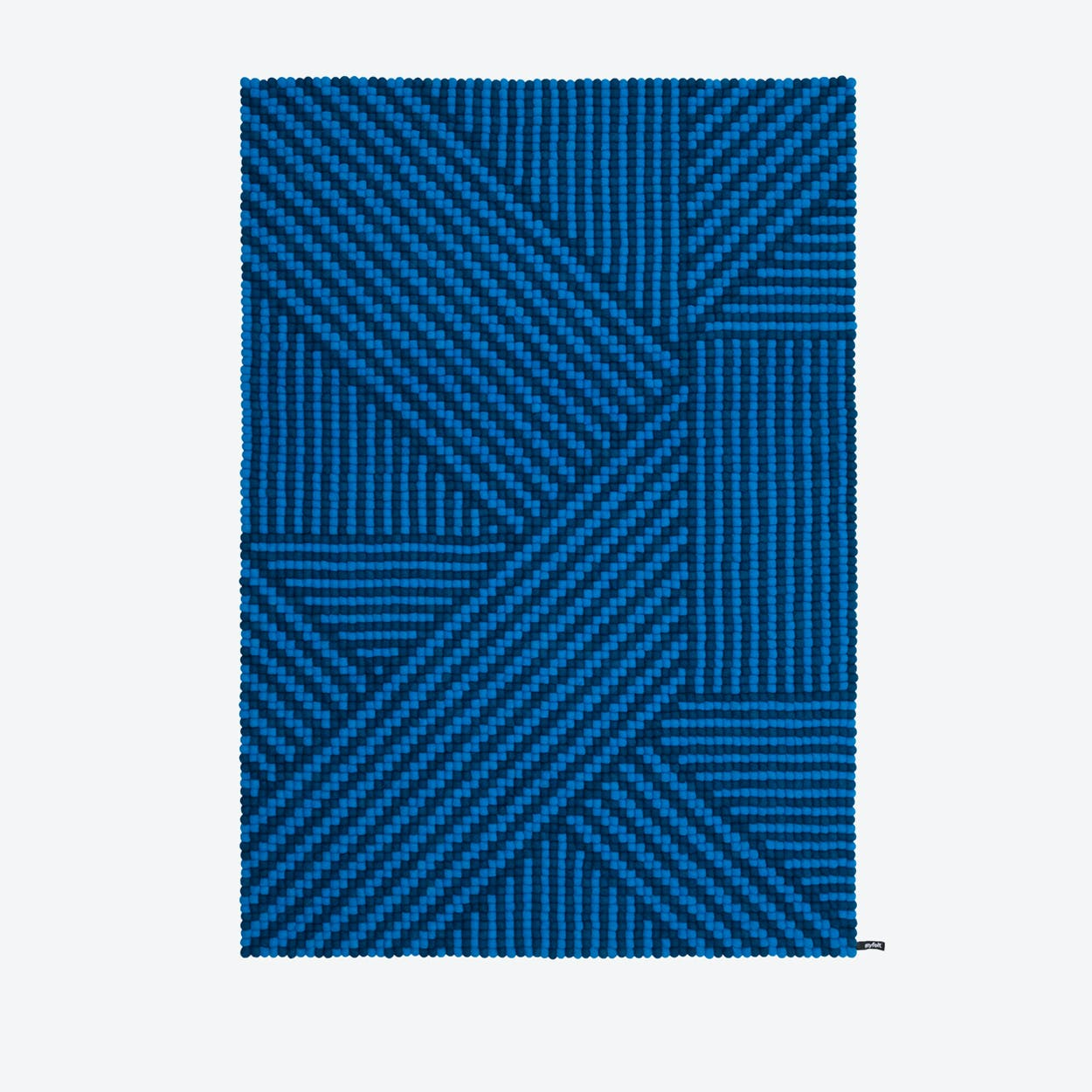 Weave-Felt Ball Rug (140x200 cm)