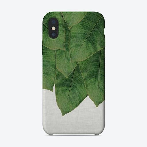 Banana Leaf I iPhone Case