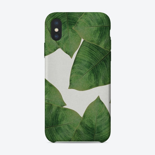 Banana Leaf II iPhone Case