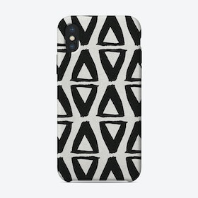 Black & White Abstract II iPhone Case