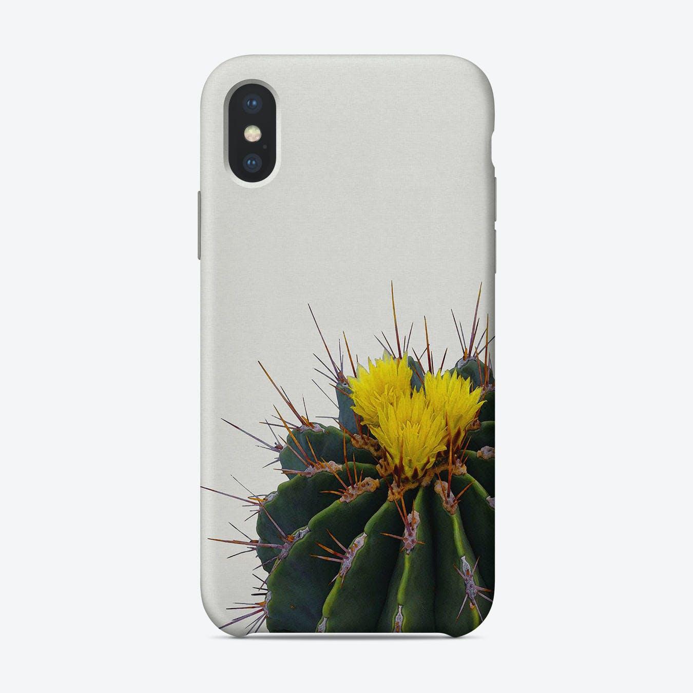 Cactus Flower iPhone Case