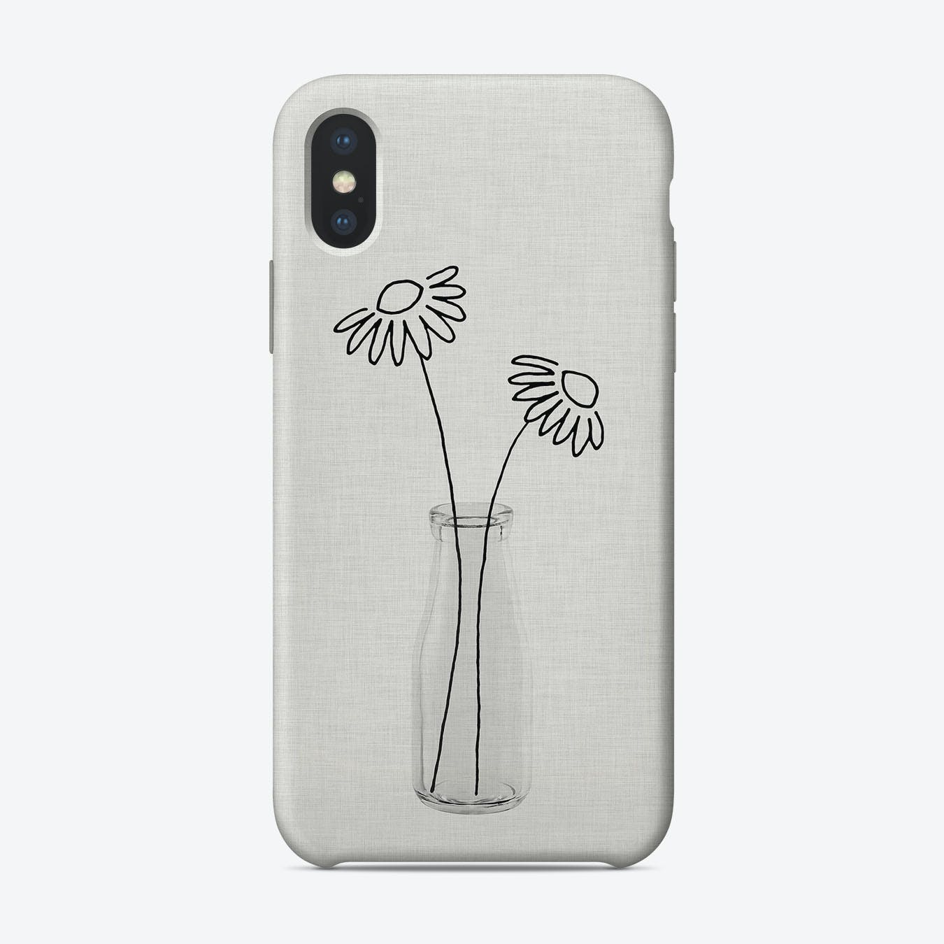 Flower Still Life II iPhone Case