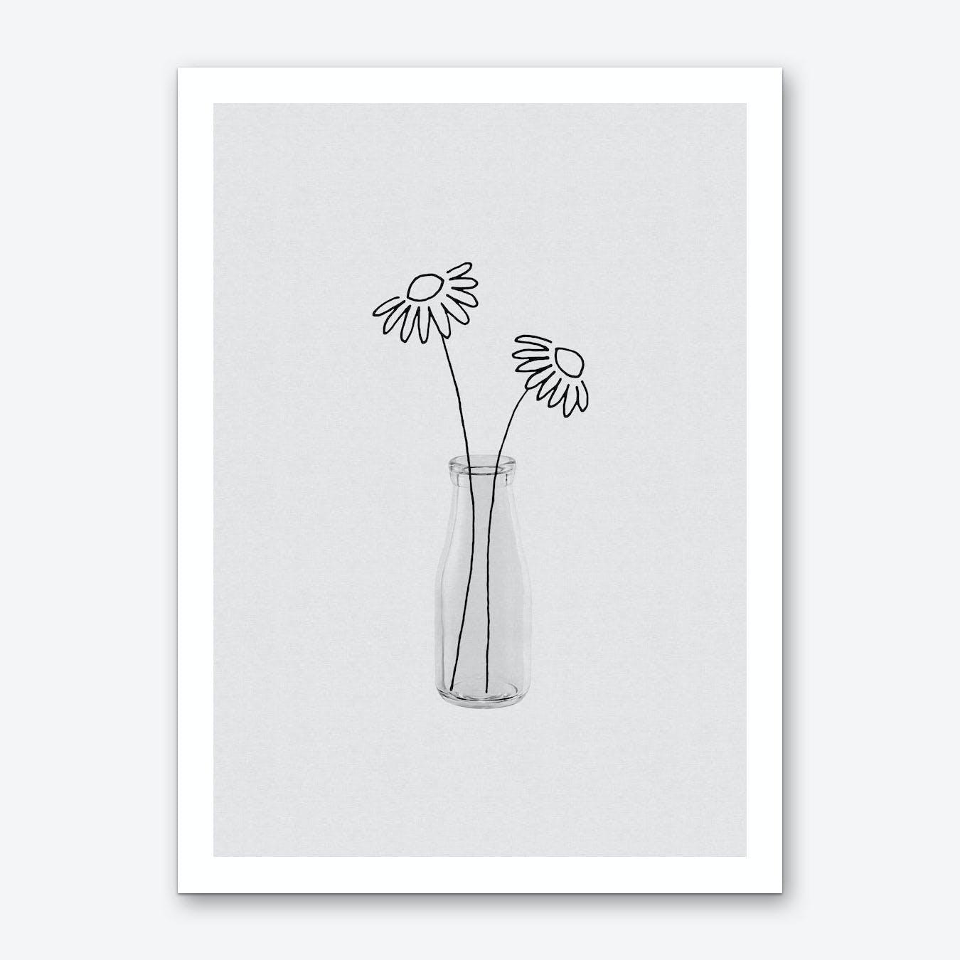 Flower Still LIfe III Art Print