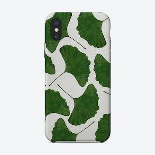 Ginkgo Leaf II iPhone Case