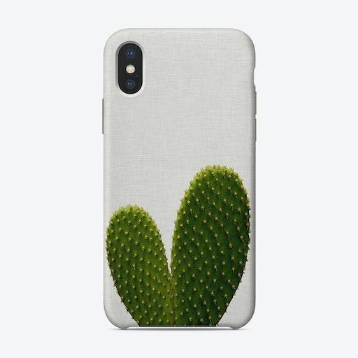 Heart Cactus iPhone Case