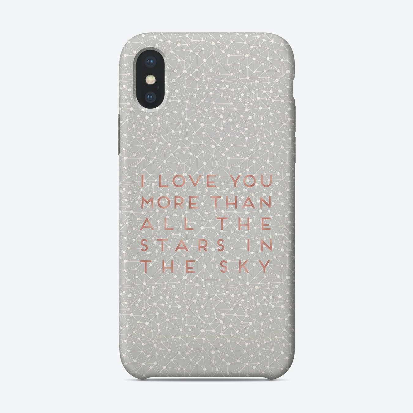 I Love You More iPhone Case